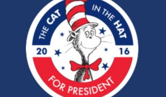 The Cat in the Hat 4 Prez – One Charity to Benefit From One Vote, Two Vote, I Vote, You Vote Campaign